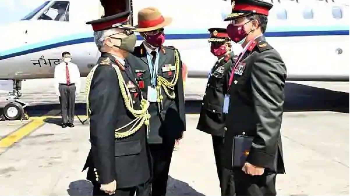Army Chief arrives in Nepal on a crucial 3-day visit