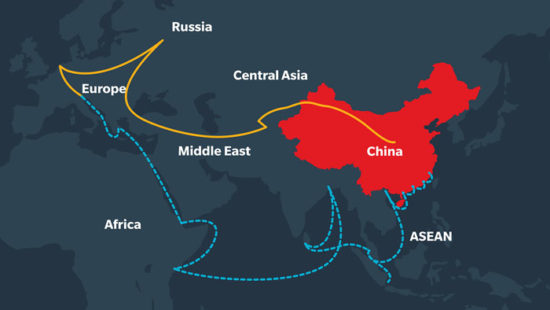 Geo-politics of BRI and China's quest to become a 'Superpower'