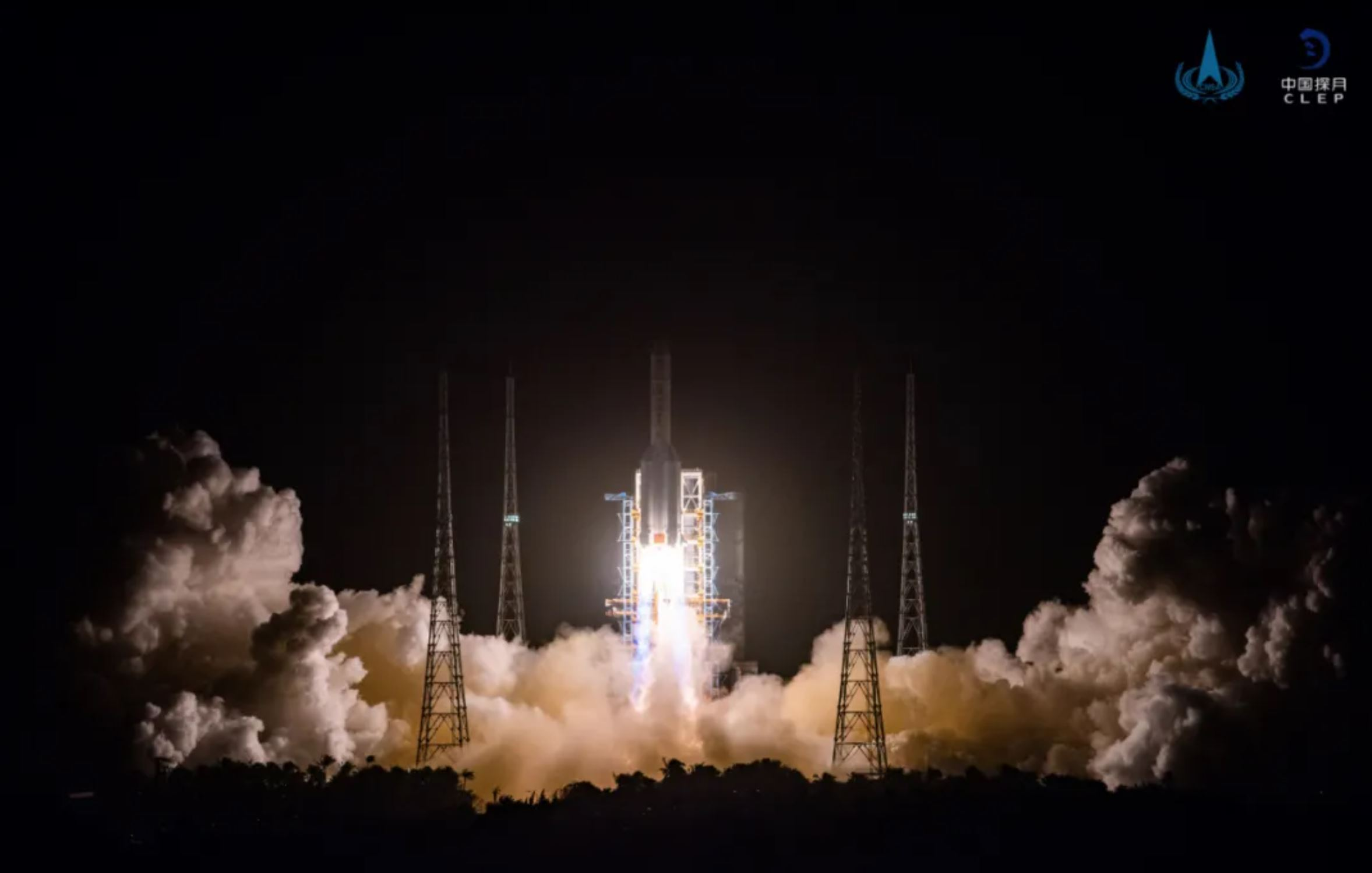 Chinese Chang'e-5 spacecraft lifts off for moon; Set to bring back lunar rock and soil