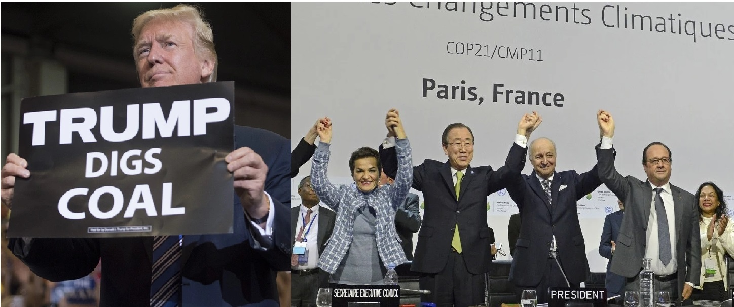 US formally withdraws from Paris agreement