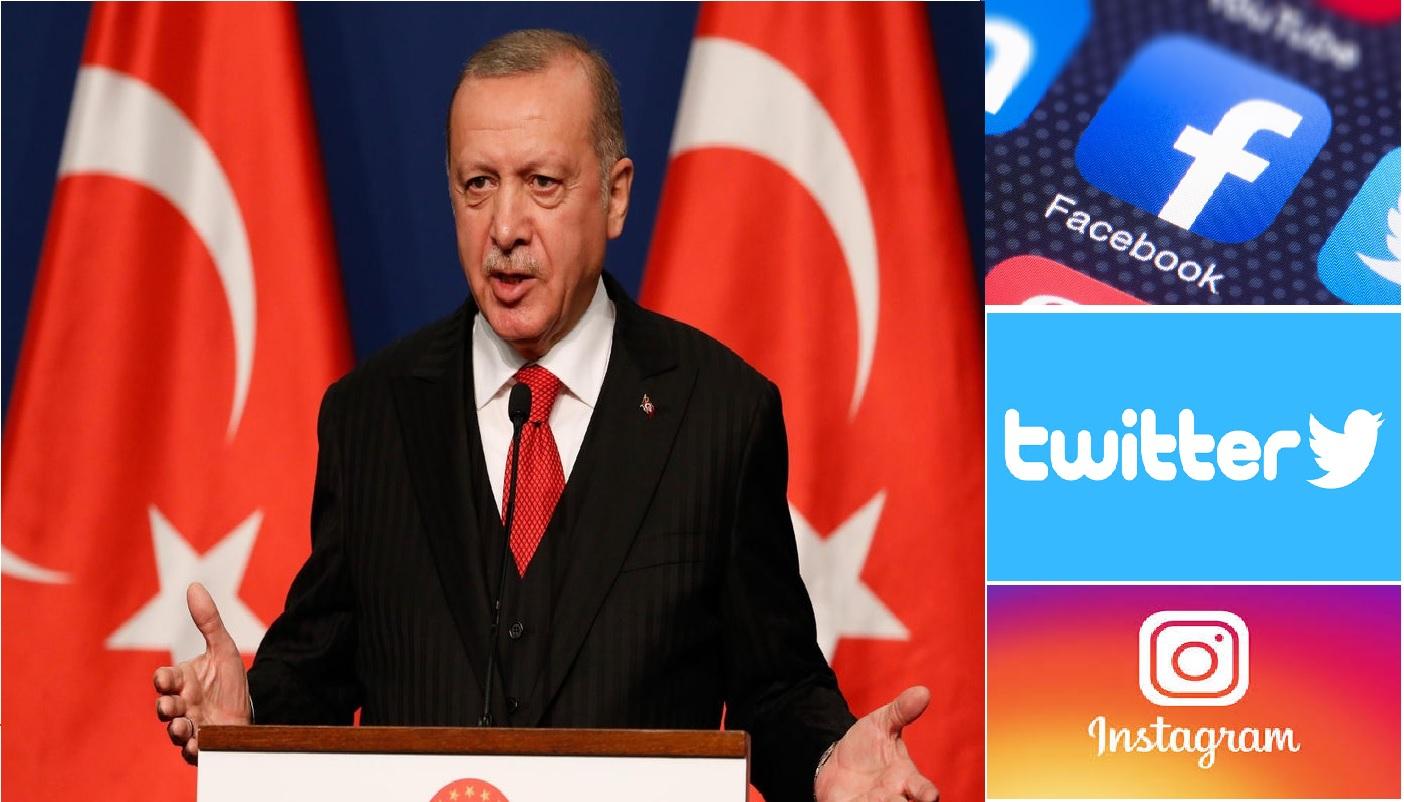 Turkey fines social media giants including Facebook, Twitter for breaching it's new Internet law