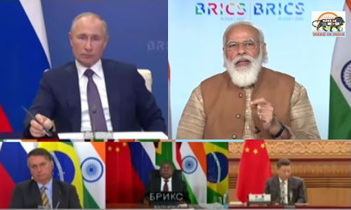 Terrorism is the biggest menace the world is facing today and countries that support terrorism must be held accountable: PM Narendra Modi at BRICS summit