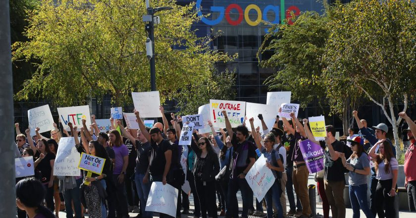 Left forays into Tech companies – Google workers, demanding change at work, Launch a 'First of its Kind' Union in the Silicon Valley