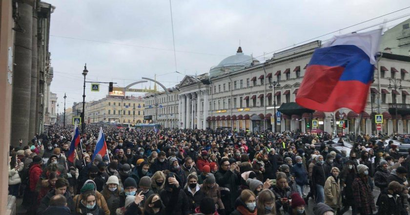 Russia Accuses US of Meddling in its affairs as Protests over Navalny's Imprisonment grip Russia