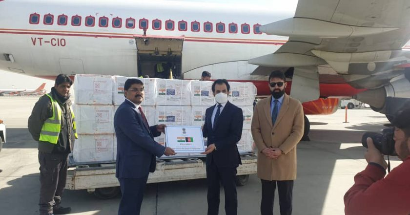India first country to donate COVID-19 vaccines to Afghanistan