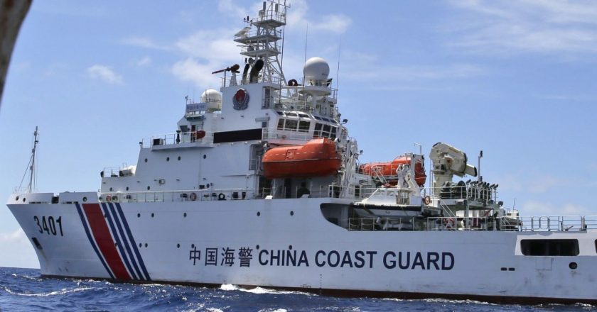 China's new Coastguard law – An open call for war with neighbors?