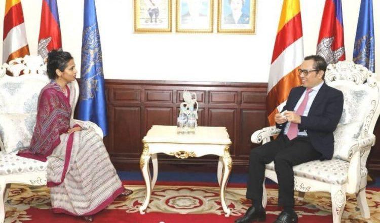 Cambodia, India to boost bilateral collaboration