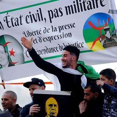 Thousands of Algerians join the renewed 'Hirak' movement to demand change in political system