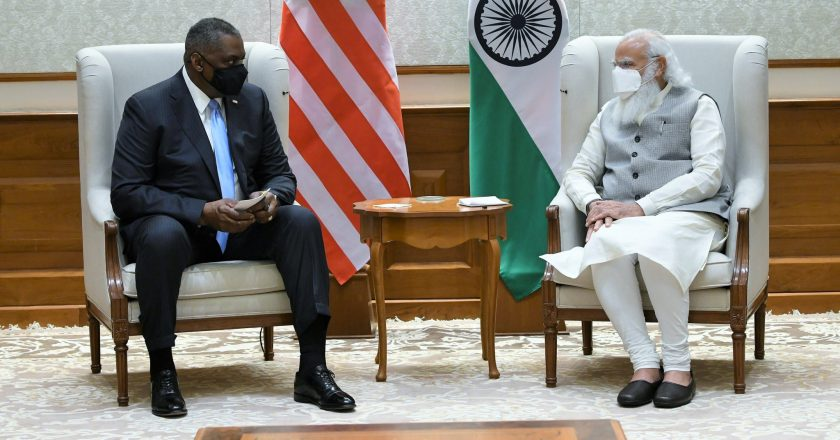 India-US relationship a stronghold of a free and open Indo-Pacific region – US Secretary of Defence Lloyd Austin