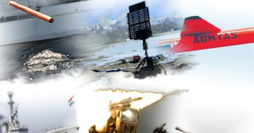 Cruise Missiles, Anti-Submarine Rockets, E-Warfare System, Autonomous Underwater Vehicles among the latest  inventions by DRDO