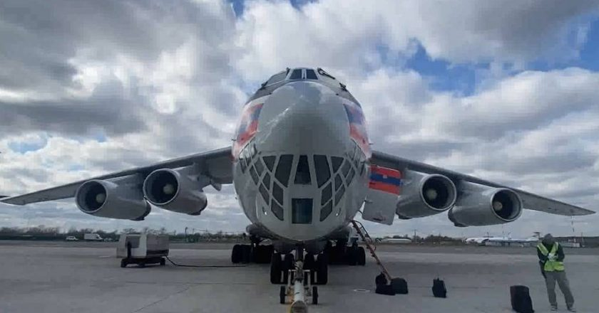 Russia sends 22 tonnes of Medical equipment to India, including oxygen support, lung ventilation devices, medical monitors and drugs