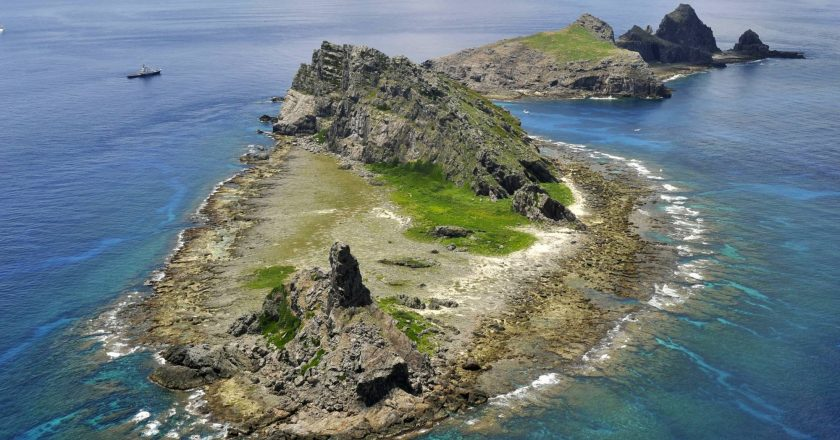 Japan protests against China's claim on Senkaku in updated maps