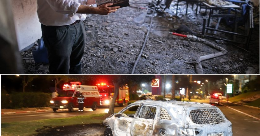 Arab mobs set synagogues on fire and torch cars in Israel's Lod