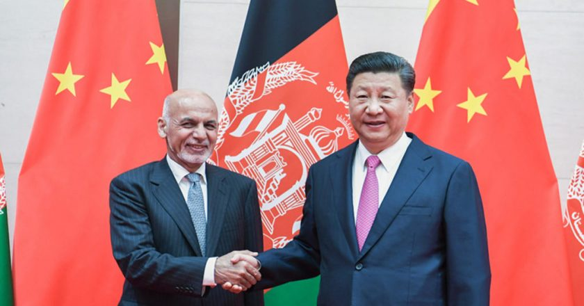 China's Diplomatic Outreach: Offers to host peace talks between various parties in Afghanistan after US troop withdrawal