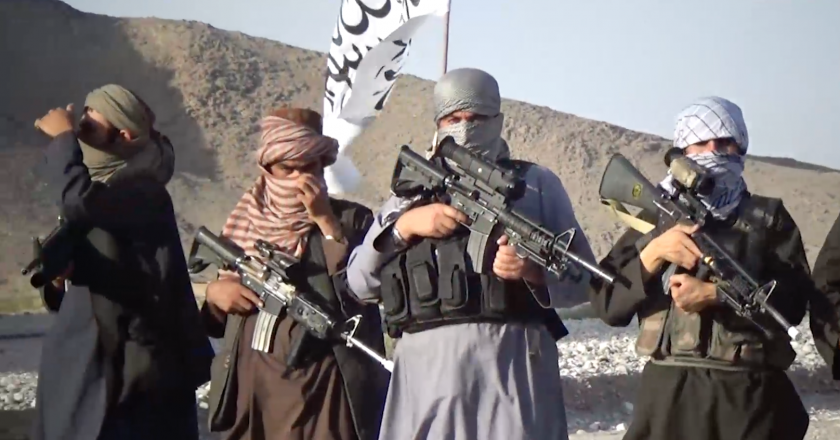 Iran providing Taliban with 'advanced' weapons? Afghan officials blame Iran's Islamic Revolutionary Guard for providing weapons to Taliban