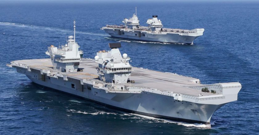 Britain to deploy two warships in East Asia permanently