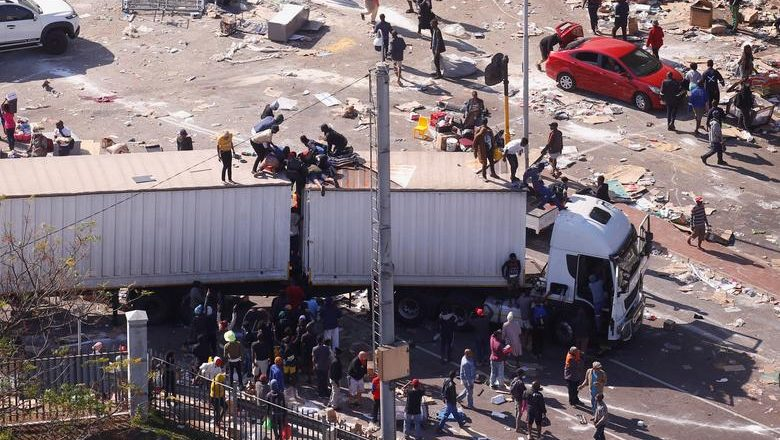 Unrest in South Africa: A Coordinated Strategy of Chaos