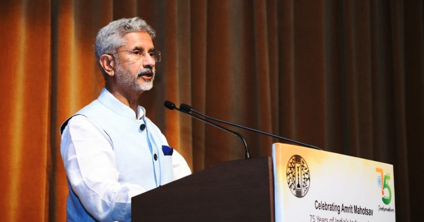 """""""Optimal mix of hard and soft power constitutes the essence of our diplomacy today"""": EAM Dr Jaishankar"""