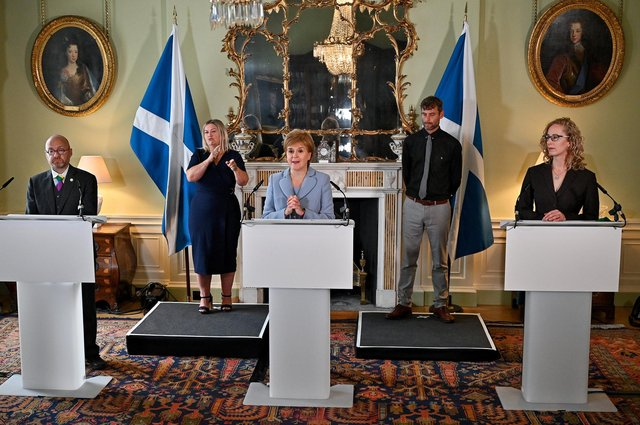 Scottish Independence Voices Grow Stronger – Scottish Greens and SNP agree on a power-sharing deal
