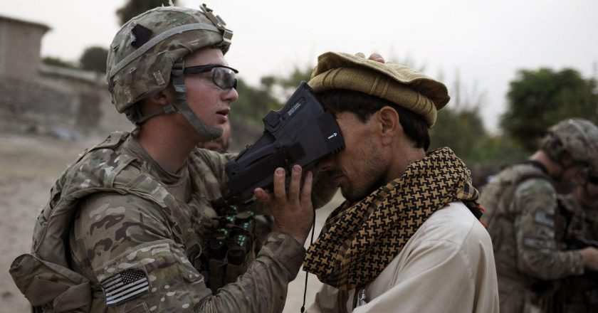 US-built Afghan people's database – A tool of repression for Taliban
