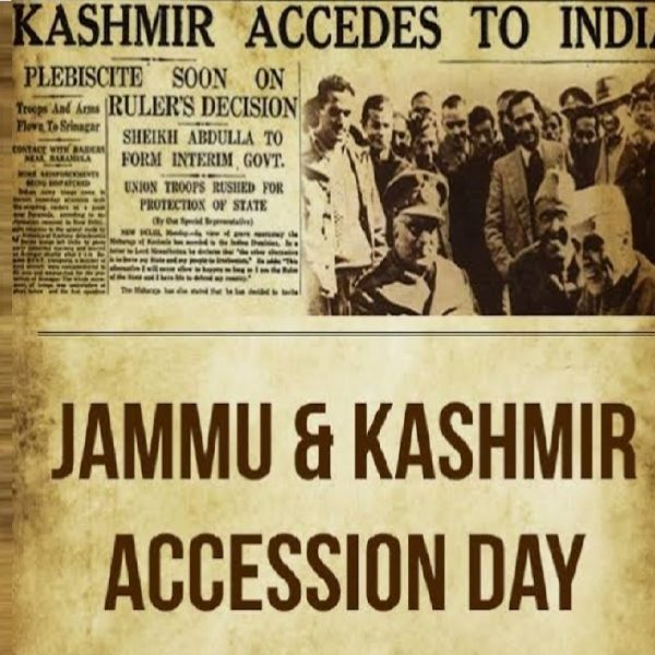 How deliberate Historical Fallacies Created Myths About J&K's Accession to India